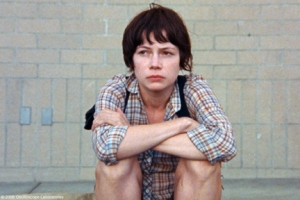 Michelle Williams as Wendy in Kelly Reichardt's WENDY AND LUCY.